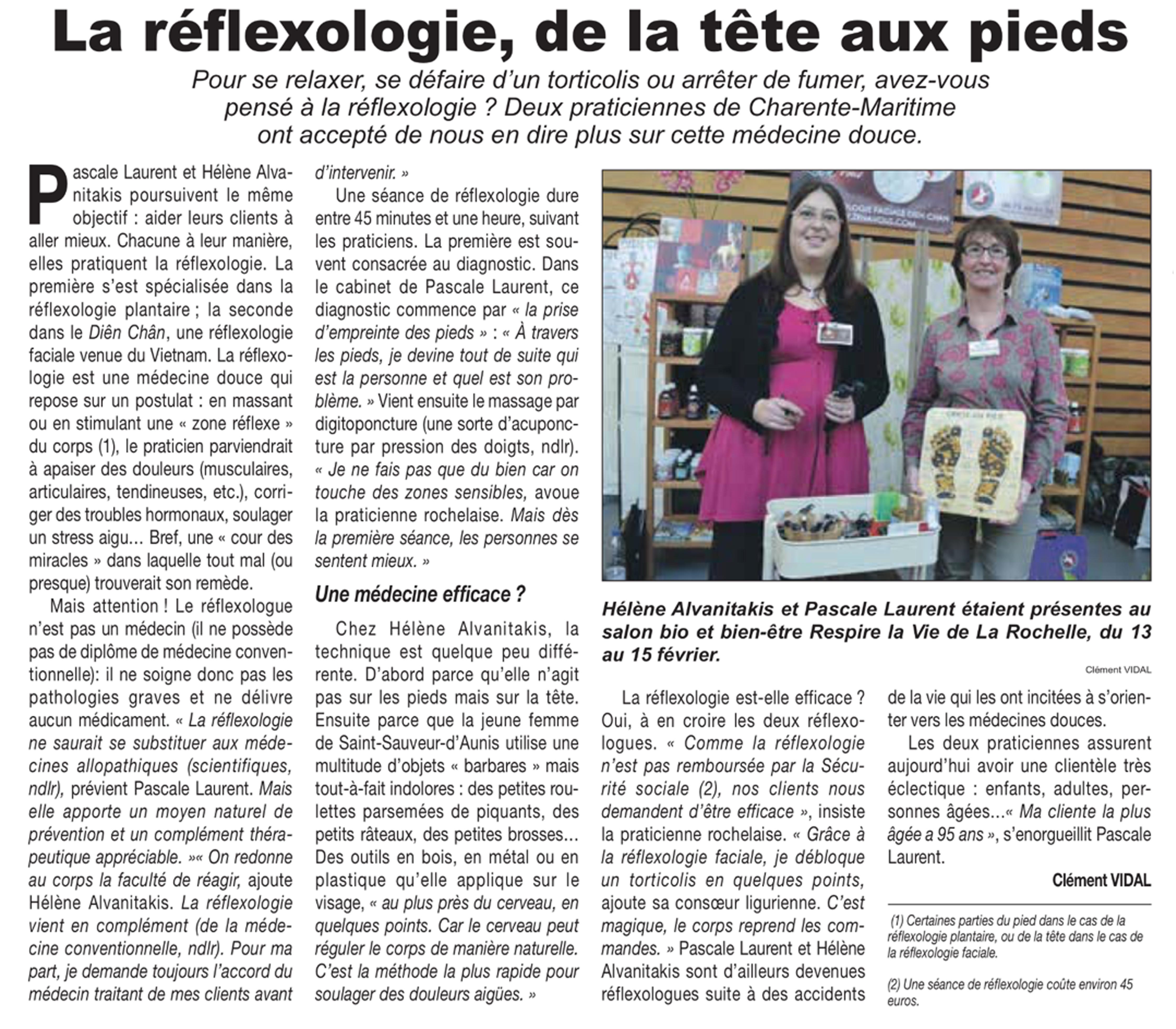 Article dans le Courrier Français IPAD PLUS